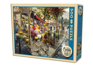 COBBLE HILL PARIS IN THE FALL PUZZLE 500 LARGER PCS