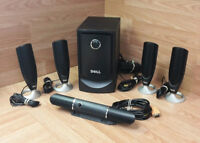 Dell Home Theater 5.1 Computer Speakers & Subwoofer System