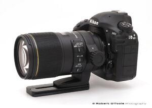 NIKON mount SIGMA 150mm f2.8 EX OS DG macro lens