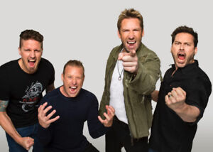 Nickleback Feed the Machine October 1st Vancouver
