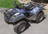 PIECES DE SUZUKI QUAD RUNNER 300 4X4 OU KING QUAD 1992-2000