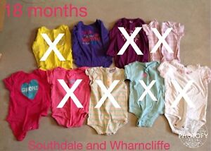 18 month girl clothing  London Ontario image 1