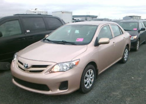2012 Toyota Corolla 1Owner Lease Return - Accident Free $54 Wkly