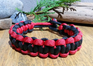Paracord Bracelet - Men's & Ladies - Assorted styles and lengths