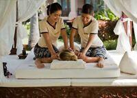 Enjoy Chinese style massage