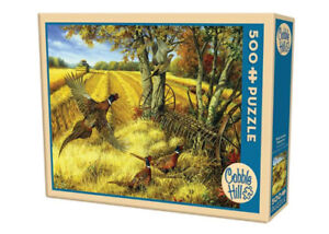 Cobble HIll 500 piece puzzle - Ring-necked Pheasants