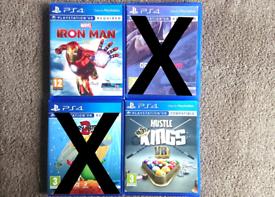 PS4 VR Games Iron Man Kings Pool Playstation 4 PSVR PS4VR PS5 VR Games