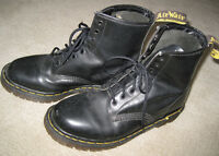 Doc Martens Black Leather Boots