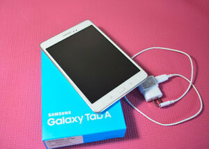 "MINT Samsung Galaxy 8"" Tab A SM-T350 16GB Android White"