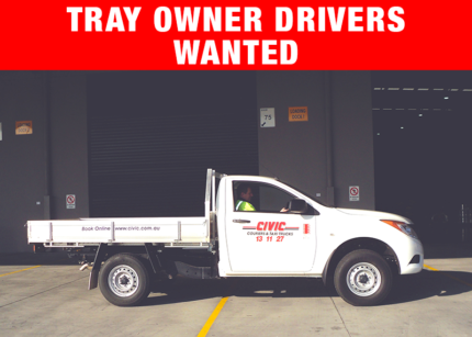 TRAY OWNER DRIVERS WANTED Ferntree Gully Knox Area Preview