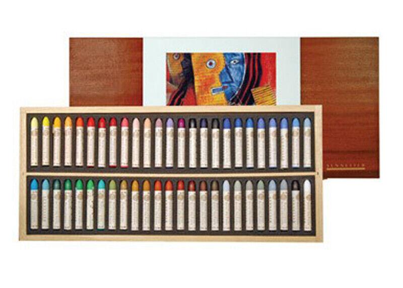 Sennelier Oil Pastel Wood Set 50 Original Picasso Colors