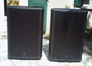 Yorkville NX750P powered PA speakers *SALE PENDING*
