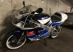 '96 Suzuki GSXR 750.