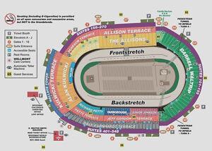 NASCAR BRISTOL WKEND 4/23-24/17 ALLISON TER  2 TICKETS/EA. RACE