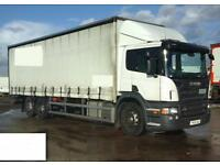 Scania P270 6X2 Curtainsider 2009