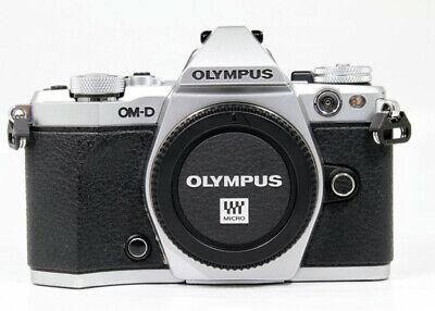 Olympus OM-D E-M5 Mark II MarkII Digital Mirrorless Camera Body Silver **AB**