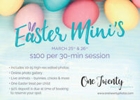 Easter Mini Sessions - *with animals*