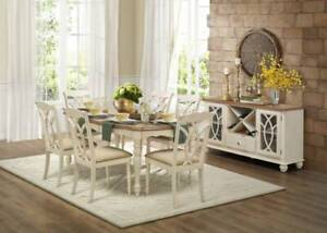 SALE!!!!!! 7 pce Azalea Dining Table and Chairs