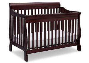 4 in 1 Crib and Mattress