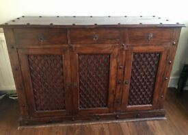 Large solid sideboard
