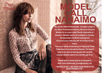 *MODEL CALL NANAIMO** Wella Professionals