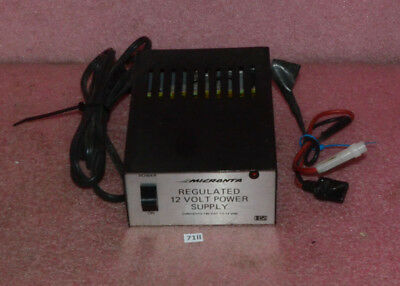 Micronta Regulated 12 Volt Power Supply Cat. No. 22-124a.