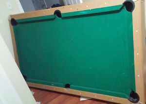 Pool table..balls and stick in great condition