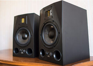 Adam A7X (pair) with Adam Sub8 Subwoofer + accessories