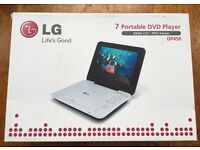 "LG 7"" Portable DVD Player DP450"