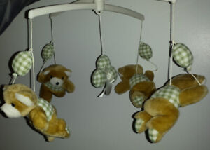 Musical Mobile by Jolly Jumper (teddy bears)
