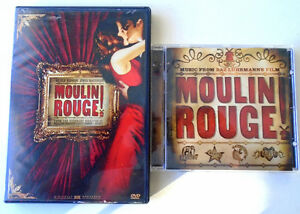 """""""Moulin Rogue"""" - DVD Movie and CD Soundtrack"""