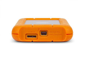 LaCie Rugged USB 3.0 Thunderbolt 1TB External Hard Drive