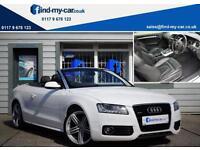 2009 09 Audi A5 3.0 TDI S-Line Quattro S-Tronic Cabriolet NAV | REV CAM | FSH