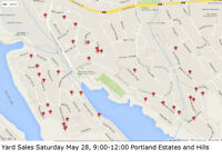 Huge Portland Estates Community Yard Sale May 28