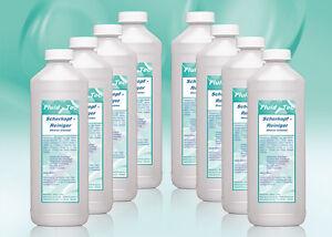 Fluid-Tec*8x500ml/4 Liter Scherkopfreiniger Reinigungsflüssigkeit Braun Rasierer