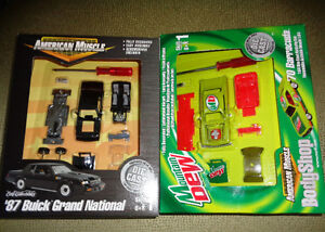 Ertl American Muscle 87 Grand National Mountain Dew 70 Cuda GNX
