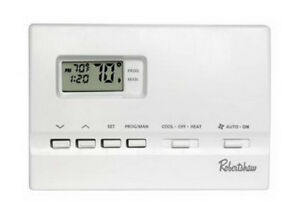 ROBERTSHAW    7 Day Digital Programmable Thermostat REDUCED$$$