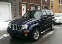 Location Jeep Liberty Limited 4X4 à Montreal