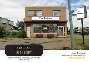 Mixed Use Building on Busy West Side Street For Lease Regina Regina Area image 1