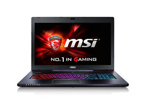 MSI GS70 Stealth Pro 17.3-Inch Laptop, Aluminum Grey