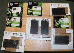 HP Inkjet 950XL/951XL Ink Cartridges