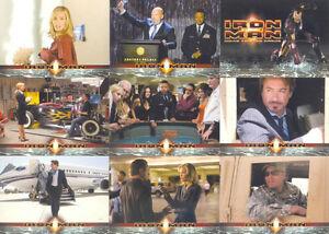 2008 MARVEL IRON MAN THE MOVIE BASE 1-70 CARD SET