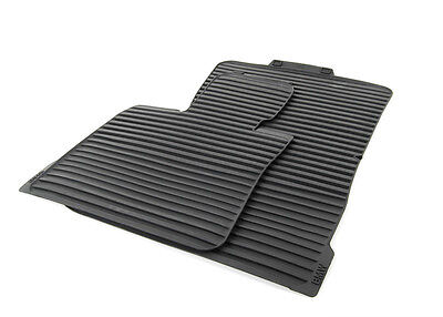 BMW OEM Black All Weather Floor Mats SET 2007 2013 E70 X5 30si 35iX 51472231953