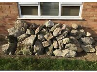 ** JOB LOT ** or single ornamental rocks for sale