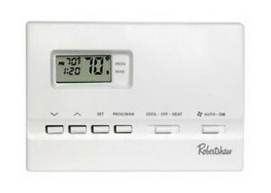 ROBERTSHAW    7 Day Digital Programmable Thermostat