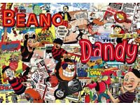 Beano, Dandy, Eagle, Topper, Beezer, Doctor Who etc comic annuals 1960's to 2000's for sale