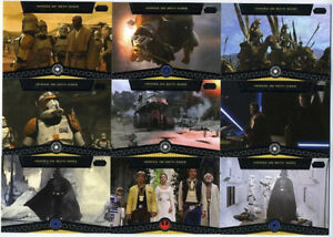 2012Topps Star Wars Galactic Files Heroes on Both Sides HB1-HB10