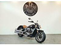 Indian MOTORCYCLE SCOUT THUNDER BLACK