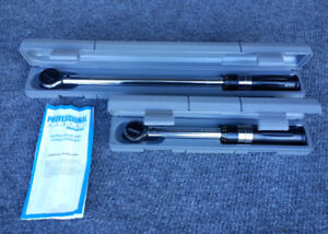 """TORQUE Wrenches (Mastercraft) 3/8"""" & 1/2"""" Drive / Pro Series"""