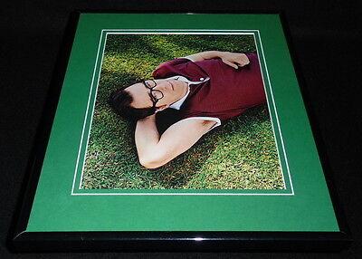 Rivers Cuomo 2014 Weezer Framed 11x14 Photo Display